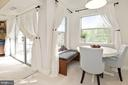Dining Area - Flanked by Oodles of Bright Windows! - 1931 WILSON LN #102, MCLEAN