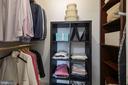 Master Bedroom Walk-In Closet - 1931 WILSON LN #102, MCLEAN