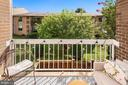 Balcony with Gorgeous Greenery Views! - 1931 WILSON LN #102, MCLEAN