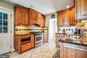 Updated Kitchen - 6215 THOMAS DR, SPRINGFIELD