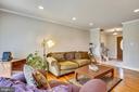 Living Room - 6215 THOMAS DR, SPRINGFIELD