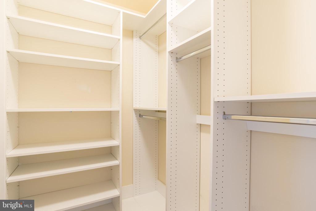 Custom Closet System in Master Bedroom #1 - 15405 ROSEMONT MANOR DR, HAYMARKET