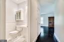 Private full bath in bedroom 3 - 3812 WASHINGTON WOODS DR, ALEXANDRIA