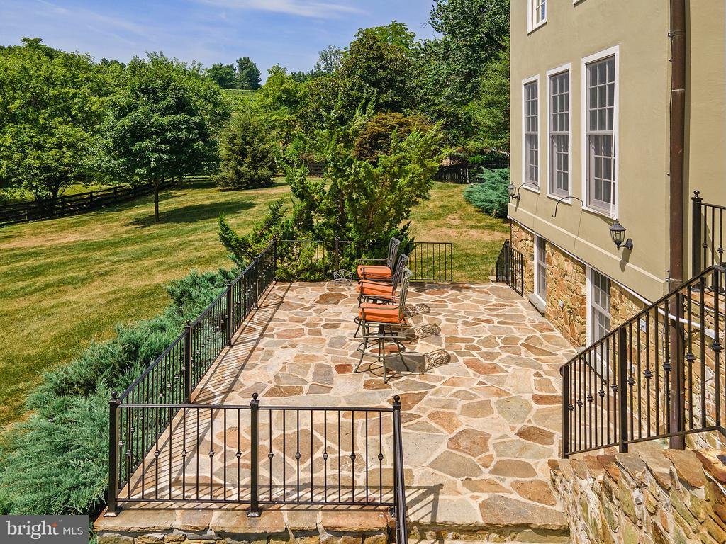 Lower Terrace. - 19200 ORCHARD MANOR LN, LEESBURG