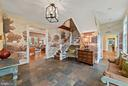 Entry Foyer (Designer wall coverings) - 19200 ORCHARD MANOR LN, LEESBURG