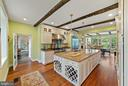 Kitchen with all the bells & whistles - 19200 ORCHARD MANOR LN, LEESBURG