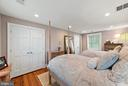 Last bedroom on the hall! Double closets - 19200 ORCHARD MANOR LN, LEESBURG