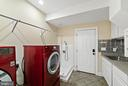 Laundry & dog bath on 1st floor (laundry chute!) - 19200 ORCHARD MANOR LN, LEESBURG