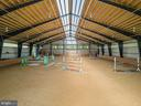 Indoor arena - 19200 ORCHARD MANOR LN, LEESBURG