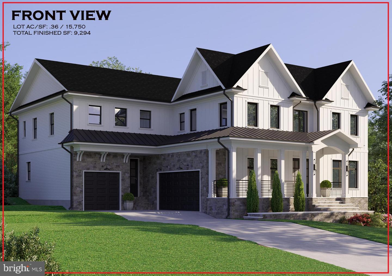 Single Family Homes para Venda às Falls Church, Virginia 22043 Estados Unidos
