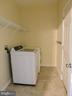 Main Level Laundry - 9300 EAGLE CT, MANASSAS PARK