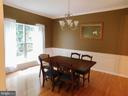 Dining Room - 9300 EAGLE CT, MANASSAS PARK