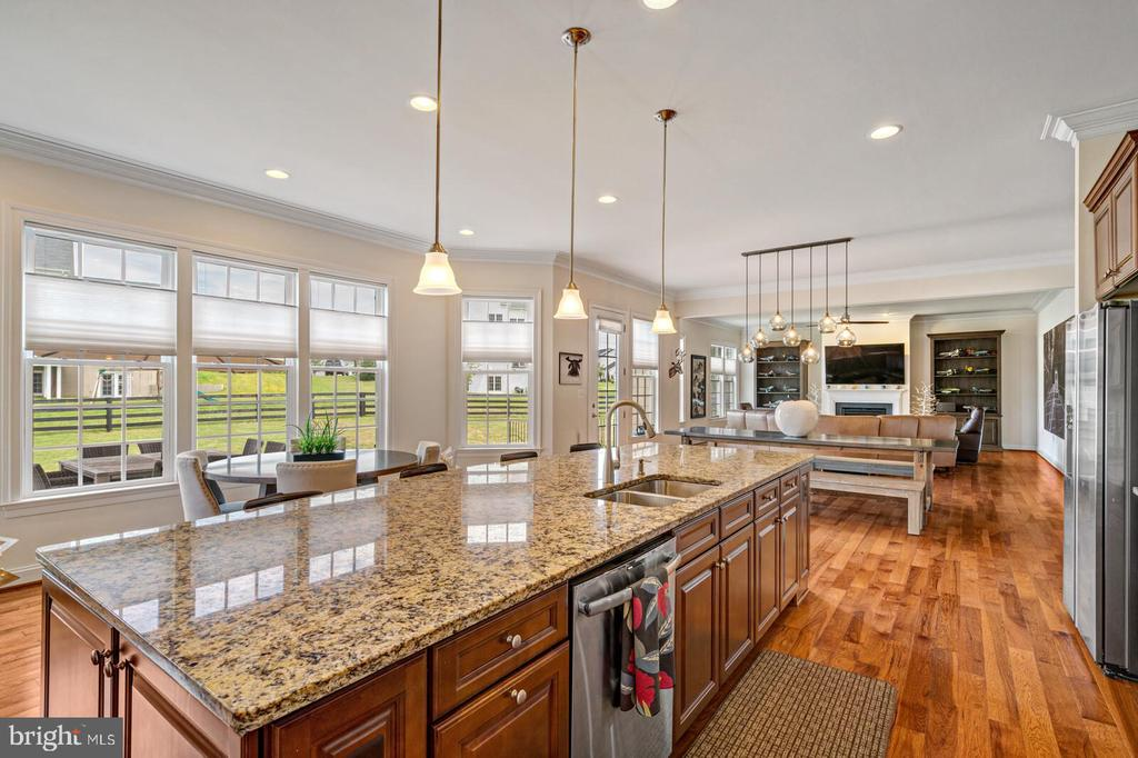 Gorgeous views while you create a feast! - 41932 CLOVER VALLEY CT, ASHBURN