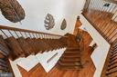 Stunning staircase with balusters - 41932 CLOVER VALLEY CT, ASHBURN