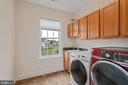 Laundry room on Bedroom level - 41932 CLOVER VALLEY CT, ASHBURN