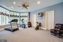 Exercise room  with full bath and steam shower - 11510 BALDY EWELL WAY, SPOTSYLVANIA