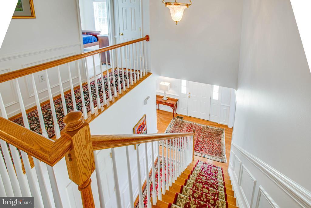 Stiars to bedroom level - 10809 STACY RUN, FREDERICKSBURG