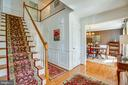Main entry and formal Dining Room - 10809 STACY RUN, FREDERICKSBURG