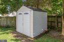 Secure storage in back yard - 10809 STACY RUN, FREDERICKSBURG