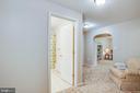 Lower level FULL bath - 10809 STACY RUN, FREDERICKSBURG