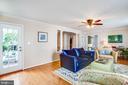 Family Room - 10809 STACY RUN, FREDERICKSBURG