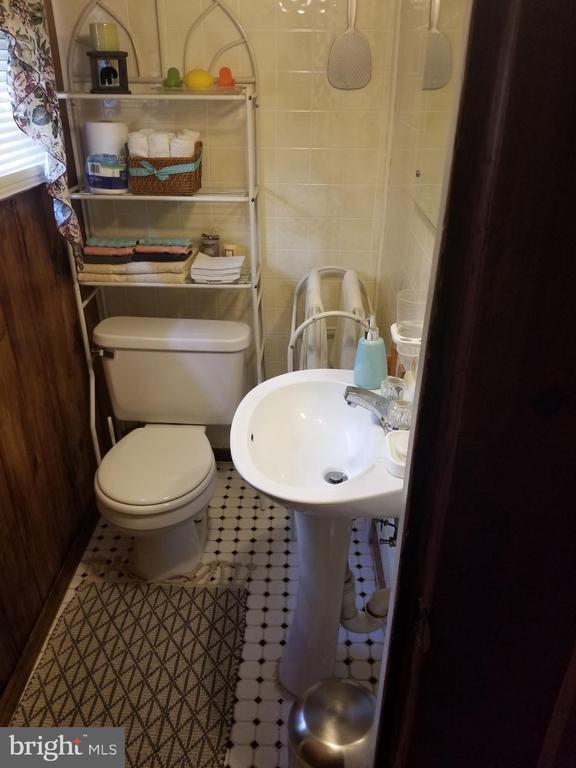 Basement bathroom - 4912 ARKANSAS AVE NW, WASHINGTON