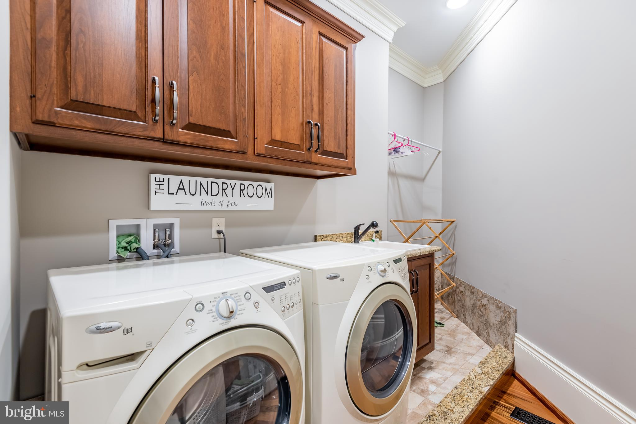 Owner's Suite Laundry room