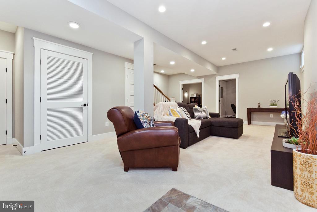 Rec-room in basement - 3000 12TH ST S, ARLINGTON
