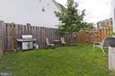 Grilling area in the back yard - 3000 12TH ST S, ARLINGTON