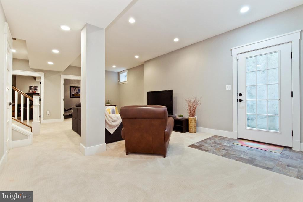 Walk-out from basement Rec-room - 3000 12TH ST S, ARLINGTON