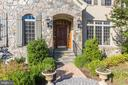 Welcoming Stone Front Porch - 1351 BLAIRSTONE DR, VIENNA