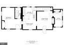main level BR, bath, home office, fireplace,  deck - 3616 ARLINGTON BLVD, ARLINGTON
