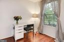 Bedroom #3 - Serene Tree Views! - 7758 NEW PROVIDENCE DR #10, FALLS CHURCH