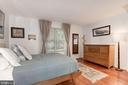 Master Bedroom - Large Window, Abundance of Sun! - 7758 NEW PROVIDENCE DR #10, FALLS CHURCH