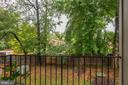 Balcony - Private, Serene, Peaceful, Tranquil! - 7758 NEW PROVIDENCE DR #10, FALLS CHURCH