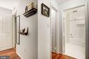 Master Bedroom Leading to Master Bathroom - 7758 NEW PROVIDENCE DR #10, FALLS CHURCH
