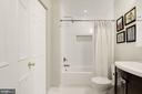 Master Bathroom - New Tile, Vanity, Floors, Lights - 7758 NEW PROVIDENCE DR #10, FALLS CHURCH