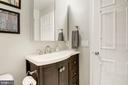 Full Bathrm #2 - New Tile, Vanity, Floor, & Light! - 7758 NEW PROVIDENCE DR #10, FALLS CHURCH