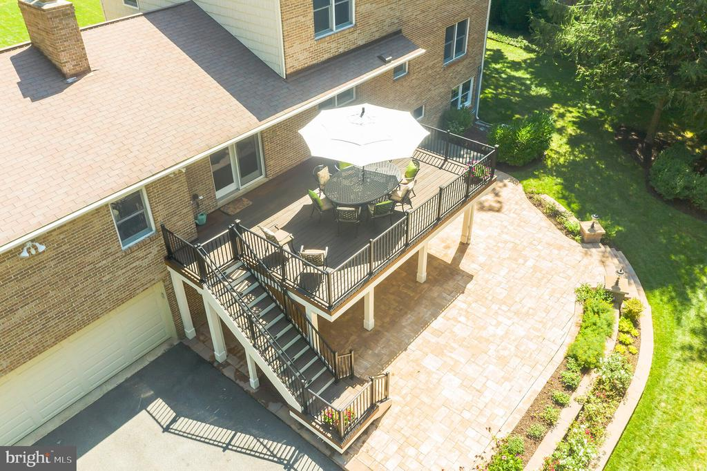 View of back from overhead - 10832 MIDDLEBORO DR, DAMASCUS