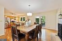 The farm table you always wanted fits like a charm - 10832 MIDDLEBORO DR, DAMASCUS