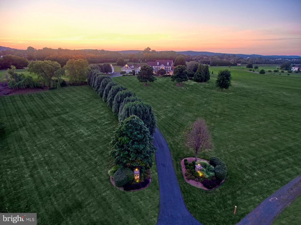 Aerial of Acreage - 17055 SPRING CREEK LN, LEESBURG