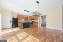 Kitchen with Large Pantry - 20232 SENECA SQ, ASHBURN