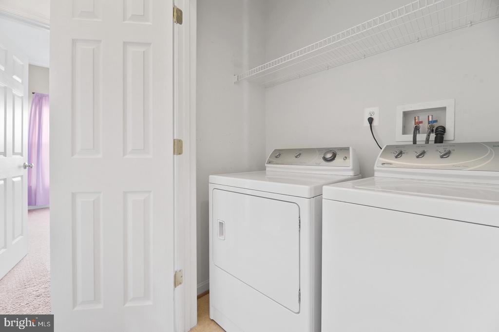 Upstairs Laundry - 20232 SENECA SQ, ASHBURN