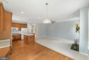 Kitchen hard wood floors - 26235 OCALA CIR, CHANTILLY