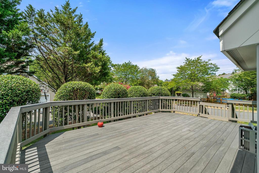 Large Deck - 26235 OCALA CIR, CHANTILLY