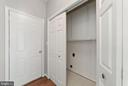 Utility Room washer/dryer hook up - 26235 OCALA CIR, CHANTILLY