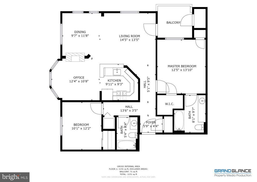 Floor plan - 6495 TAYACK PL #201, ALEXANDRIA