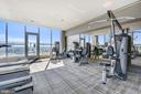 Rooftop Gym. - 930 ROSE AVE #1101, NORTH BETHESDA