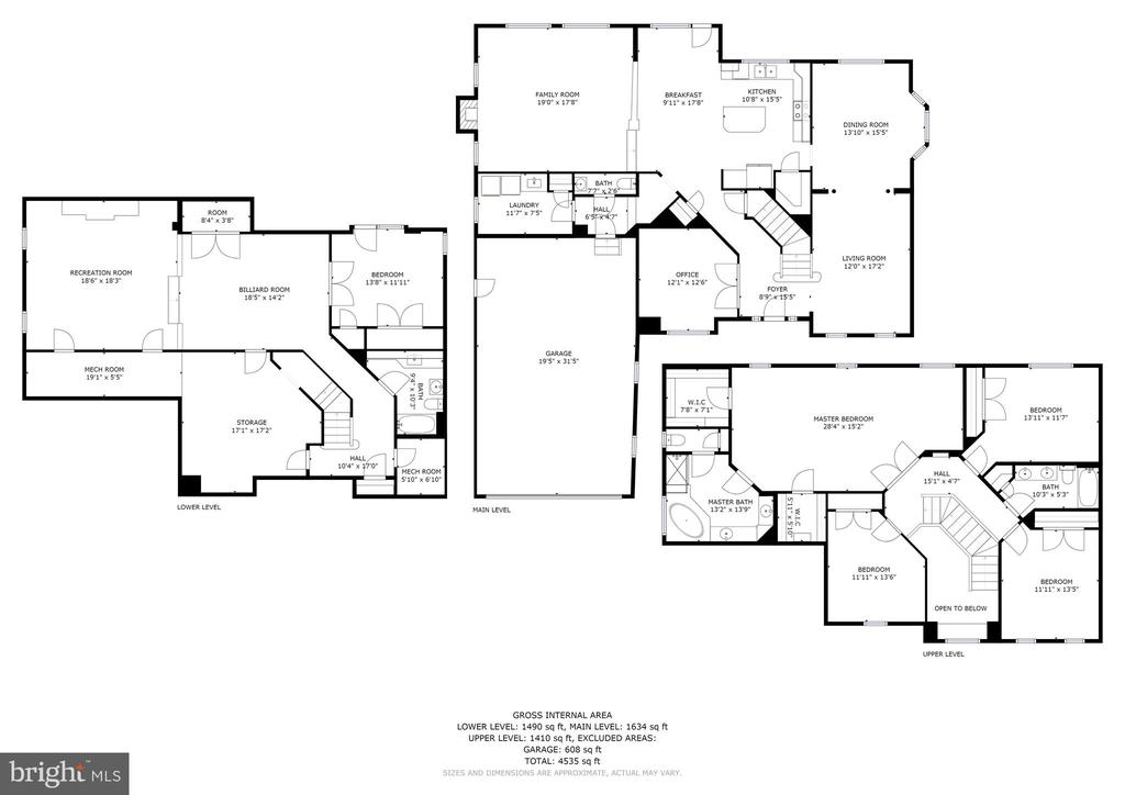 Floor plan - 11308 KNIGHTS LANDING CT, LAUREL