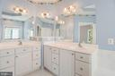 Owner's luxury bath - 11308 KNIGHTS LANDING CT, LAUREL